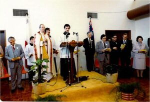 The official opening of the new Maltese Centre in November 1983.