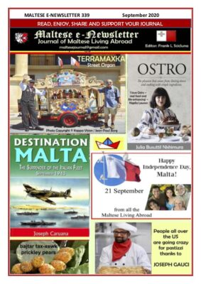 Maltese e-Newsletter 339