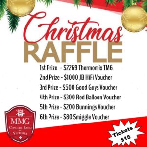 MMG Concert Band of Victoria Christmas Raffle