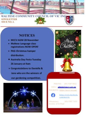 MCCV Newsletter Dec 2020